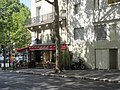 Panneau Combat du Taureau-3 avenue Mathurin-Moreau.jpg