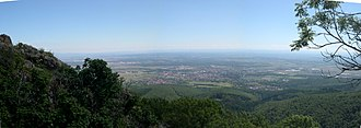 Alsace - Image: Pano.cernay