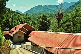 Quaid-e-Azam tourist lodge, Barsala - Panoramic view of the lodge