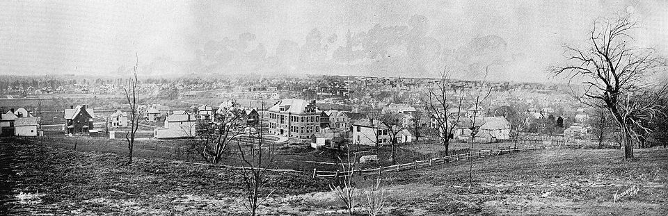 Panoramic View Norwood Ohio 1894