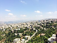 Panoramic view of Aley from Ras Ill Jabal by Kamil Chehayeb.jpg