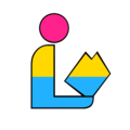 Pansexual LGBT Pride Library Logo.png
