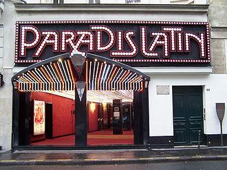 Paradis Latin - Image: Paradis Latin 2012