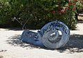 Parc de la Rambleta de València, escultura de caragol.JPG