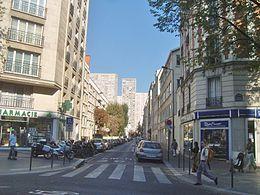 Rue de la vistule wikip dia - 13 avenue de la porte d italie ...