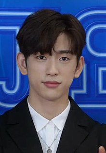 Park Jinyoung (1994) at 2018 KBS Song Festival, 28 December 2018 01.jpg