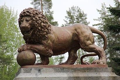 Kuinka päästä määränpäähän Parolan Leijona käyttäen julkista liikennettä - Lisätietoa paikasta