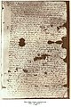 Partially encrypted letterof Bálint Balassi from 1588.jpg