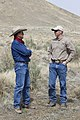 Partners for Fish and Wildlife Biologist with Landowner (6989159060).jpg