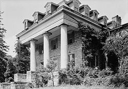 Patapsco Female Institute, Church Road, Berg Alnwick, Ellicott City (Howard County, Maryland).jpg