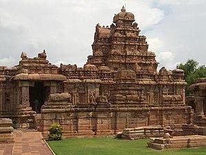Vikramaditya II - Virupaksha temple, Pattadakal