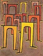 Paul Klee, Revolution des Viadukts, 1937
