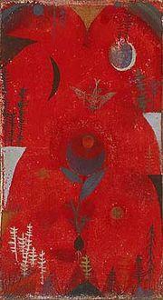 Paul Klee Flower Myth 1918