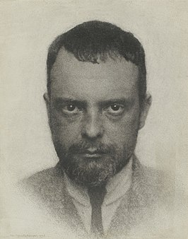 Paul Klee, 1922, gefotografeerd door Hugo Erfurth