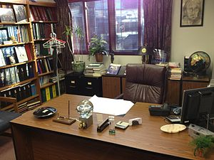 Paul Kurtz - The office of Paul Kurtz at Center for Inquiry Transnational, Amherst, NY