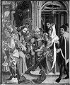 Paul Lautensack - Christus vor dem Hohenpriester Rückseite, Reliefspuren - L 1624 - Bavarian State Painting Collections.jpg
