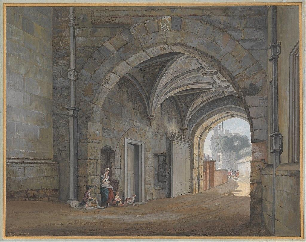Пол Сэндби - Ворота Королевы Елизаветы - Google Art Project.jpg