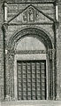 Pavia porta della chiesa di San Pietro in Cielo d'Oro xilografia di Barberis.jpg