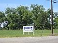 Pavo Welcome Sign, GA SR 122 WB.JPG