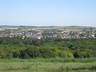 Vittel - General view of the town
