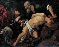 Pedro Orrente - The Sacrifice of Isaac - Google Art Project.jpg