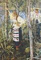 Pekka Halonen - Neiet niemien nenissä (1895).jpg