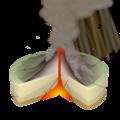 Pelean Eruption-numbers batik.png