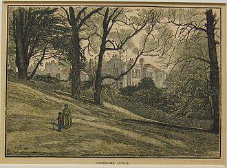 Pembroke Lodge, Richmond Park - Pembroke Lodge in the 1880s