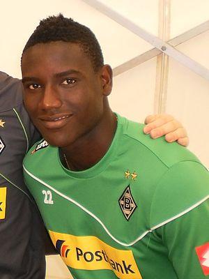Peniel Mlapa - Mlapa with Borussia Mönchengladbach in 2012