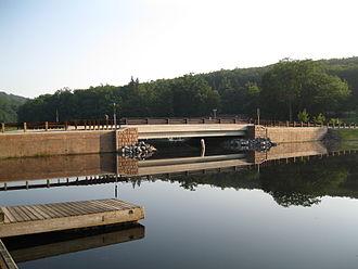 Pennsylvania Route 504 - Bridge carrying PA 504 over the Black Moshannon Creek near Philipsburg
