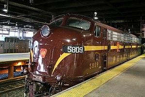 Juniata Terminal Company - Image: Pennsylvania Railroad, E8, 5711