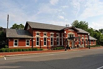 Newark, Ohio - Newark's Pennsylvania Railway Station