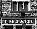 Perth (AU), Perth Central Fire Station -- 2019 -- 0275 (bw).jpg