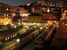 La stazione di Perugia-Sant'Anna