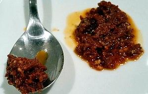 Pesto alla trapanese - Image: Pesto rosso