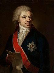 Portrait of Jan Duklan Buchowiecki.