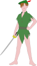 Peter Pan by nk.svg