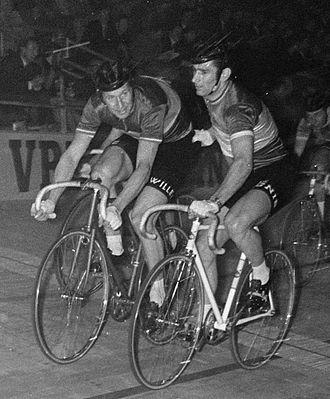 Romain De Loof - Peter Post and Romain De Loof (right) in 1969