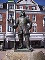 Peter Wessel Tordenskiold statue, Frederikshavn den 2 maj 2007.jpg