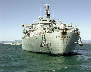 SS Petersburg (T-AOT-9101) - Image: Petersburg stern