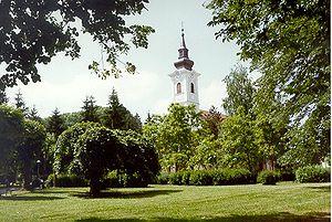 Petrinja - Park in Petrinja