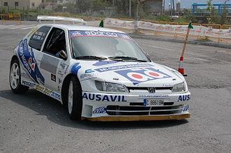 FIA 2-Litre World Rally Cup - Peugeot 306 Maxi