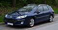 Peugeot 407 SW (Facelift) – Frontansicht, 3. Mai 2012, Wülfrath.jpg
