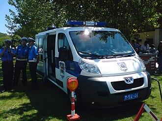Law enforcement in Serbia - Image: Peugeot Boxer 330 Lihi of Serbian Police