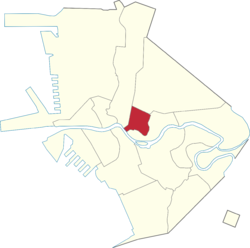 Location of Quiapo