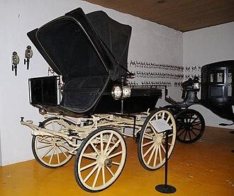 Geraz do Lima Carriage Museum - Image: Phaeton de Cabeca Arreda