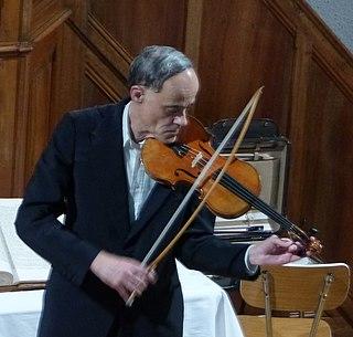 Philippe Borer Swiss violinist, scholar and teacher