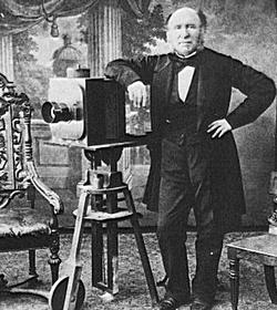 Fotograf im Studio, um 1850