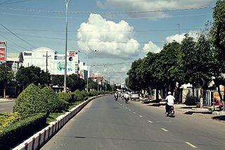 Tây Ninh City in Vietnam