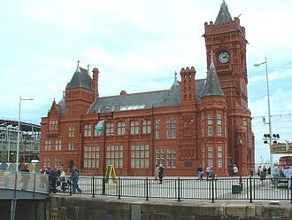 Listed buildings in Cardiff Bay - Pierhead Building